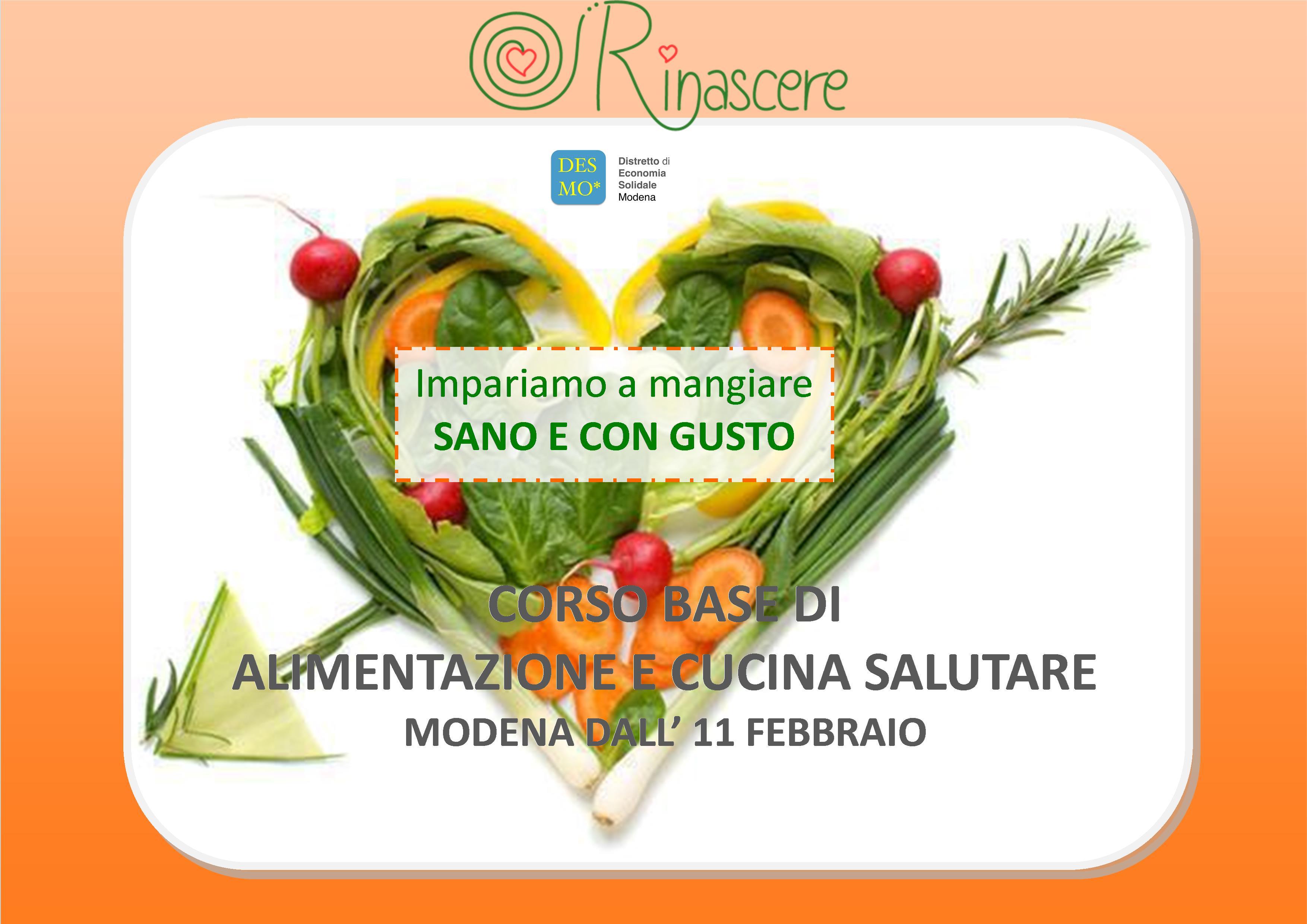 www.desmodena.it - corso base alimentazione e cucina naturale 2015 - Corso Cucina Modena